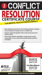 Image of2-Day Conflict Resolution Certificate Course for Mental Health Profess