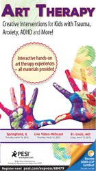 Image ofArt Therapy: Creative Interventions for Kids with Trauma, Anxiety, ADH