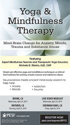 Image ofYoga & Mindfulness Therapy: Mind-Brain Change for Anxiety, Moods, Trau