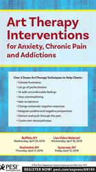 Image ofArt Therapy Interventions for Anxiety, Chronic Pain and Addictions