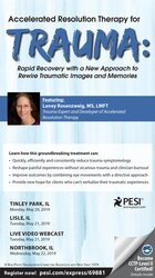 Image of Accelerated Resolution Therapy for Trauma: Rapid Recovery with a New A