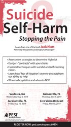 Image ofSuicide & Self-Harm: Stopping the Pain