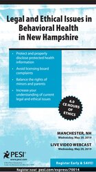 Image of Legal & Ethical Issues in Behavioral Health in New Hampshire