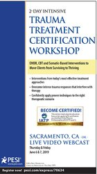 Image of2-Day Intensive Trauma Treatment Certification Workshop: EMDR, CBT and