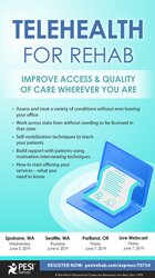 Image ofTelehealth for Rehab: Improve Access & Quality of Care Wherever You Ar
