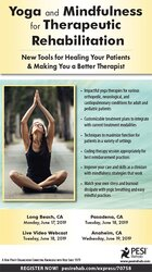 Image of Yoga and Mindfulness for Therapeutic Rehabilitation: New Tools for Hea