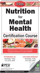 Image of 3-Day: Nutrition for Mental Health Certification Course