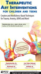 Image of Therapeutic Art Interventions for Children and Teens: Creative and Min
