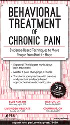 Image of Behavioral Treatment of Chronic Pain: Evidence-Based Techniques to Mov