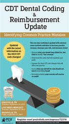 Image of CDT Dental Coding & Reimbursement Update: Identifying Common Practice