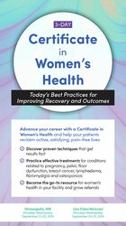 Image of 3-Day: Certificate in Women's Health: Today's Best Practices for Impro