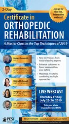Image of2-Day Certificate in Orthopedic Rehabilitation: A Masterclass in the T