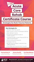 Image of 2-Day: Acute Care Rehab Certificate Course: Strategies for Multi-Traum