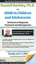 Image ofRussell Barkley, Ph.D. on ADHD in Children and Adolescents: Advances i