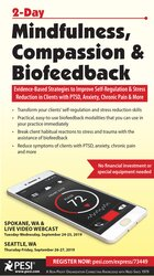 Image of 2-Day Mindfulness, Compassion & Biofeedback: Evidence-Based Strategies