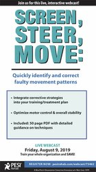 Image of Screen, Steer, Move: Quickly Identify and Correct Faulty Movement Patt
