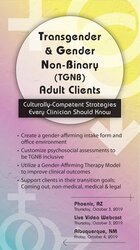 Image of Transgender & Gender Non-Binary (TGNB) Adult Clients: Culturally-Compe