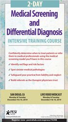 Image of 2-Day: Medical Screening and Differential Diagnosis Intensive Training