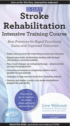 Image of 2-Day: Stroke Rehabilitation Intensive Training Course: Best Practices