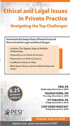 Image of Ethical and Legal Issues in Private Practice: Navigating the Top Chall