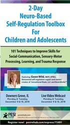 Image of 2-Day Neuro-Based Self-Regulation Toolbox For Children and Adolescents