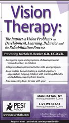 Image of Vision Therapy: The Impact of Vision Problems on Development, Learning