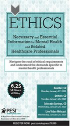 Image of Ethics: Necessary and Essential Information for Mental Health and Rela