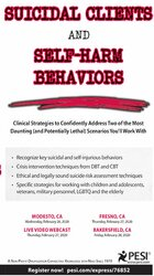 Image of Suicidal Clients and Self-Harm Behaviors: Clinical Strategies to Confi