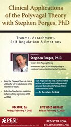 Image of Clinical Applications of the Polyvagal Theory with Stephen Porges, PhD