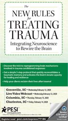 Image of The New Rules for Treating Trauma: Integrating Neuroscience to Rewire