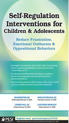 Image of Self-Regulation Interventions for Children & Adolescents: Reduce Frust