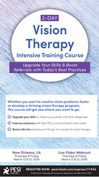 Image of 2-Day: Vision Therapy Intensive Training Course: Upgrade Your Skills &