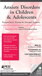 Image of Anxiety Disorders in Children and Adolescents: Recognizing & Treating