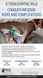 Image of IV Troubleshooting Skills: Conquer Infusion Risks and Complications