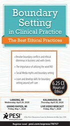 Image of Boundary Setting in Clinical Practice: The Best Ethical Practices