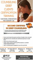 Image of Counseling Grief Clients Certification Training: Functional Interventi
