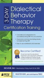 Image of 3-Day: Dialectical Behavior Therapy Certification Training