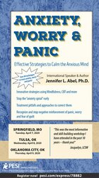 Image of Anxiety, Worry & Panic: Effective Strategies to Calm the Anxious Mind