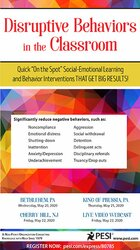 "Image of Disruptive Behaviors in the Classroom: Quick ""On the Spot"" Social-Emot"