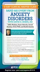 Image of 2-Day Clinical Master Class: Rapid Recovery from Anxiety Disorders wit