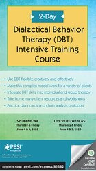 Image of 2-Day Dialectical Behavior Therapy (DBT) Intensive Training Course