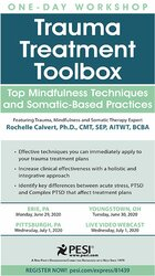 Image of Trauma Treatment Toolbox: Top Mindfulness Techniques and Somatic-Based