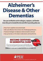 Image of Alzheimer's Disease & Other Dementias Certification Training