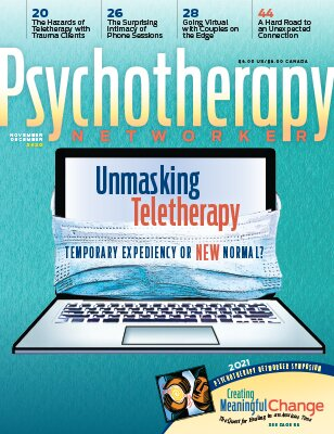 Unmasking Teletherapy