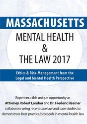 Massachusetts Mental Health & The Law 2017: