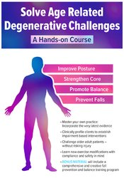 Solve Age Related Degenerative Challenges: A Hands-on Course