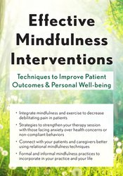 Effective Mindfulness Interventions