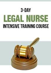 3-Day: Certificate in Legal Nursing Documentation