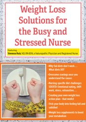 Weight Loss Solutions for the Busy and Stressed Nurse