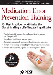 Medication Error Prevention Training
